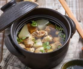 萝卜牛腩清汤