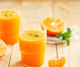 姜汁胡萝卜柑橘饮