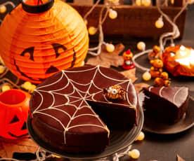蜘蛛网恶魔蛋糕