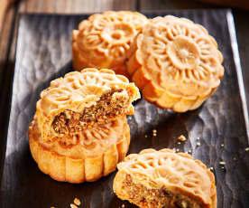 哈式川酥五仁月饼