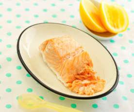 柠香三文鱼(10~12个月辅食)