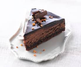 松脆巧克力蛋糕