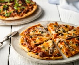Gluten-free Pizza Two Ways
