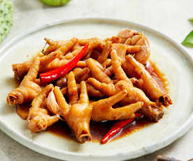 台式古早味卤鸡脚