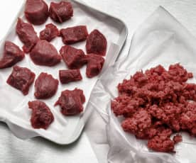 绞肉/肉糜