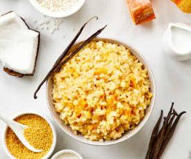 南瓜小米椰浆烩饭
