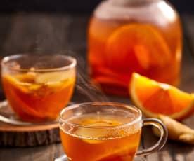 茴香甜橙姜汁