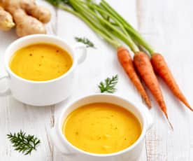 胡萝卜姜汤