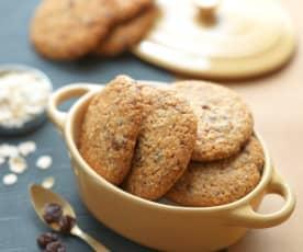 葡萄干燕麦饼干