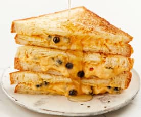 红薯珍珠三明治