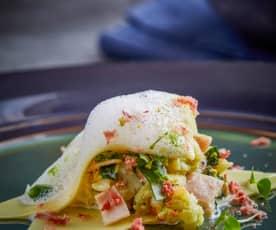意大利菠菜芝士饺