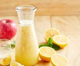 柠檬苹果果昔