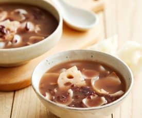 红豆百合莲藕汤