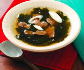 韩式牛肉海带汤