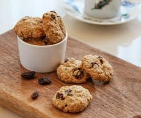 燕麦葡萄干饼干