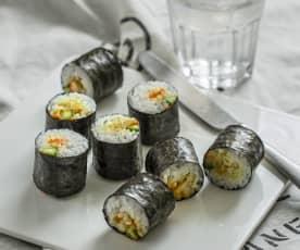 咖喱鸡寿司卷