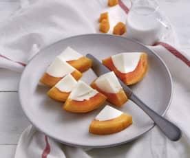 木瓜椰汁糕