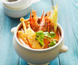 泰式酸辣海鲜汤