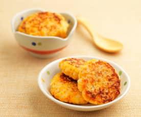三文鱼米饼(13~18个月辅食)