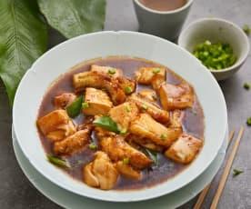 豆腐鱼烧豆腐
