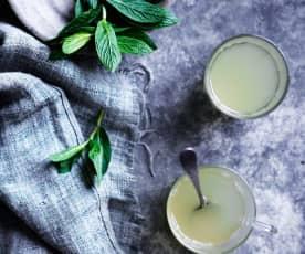 柠檬草薄荷姜茶