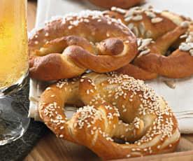 德国扭结碱水面包(Pretzel)