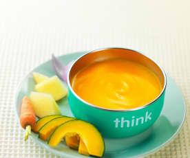 南瓜浓汤(7~9个月辅食)