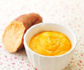 番薯泥(6个月辅食)