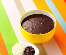 紫米粥(7~9个月辅食)