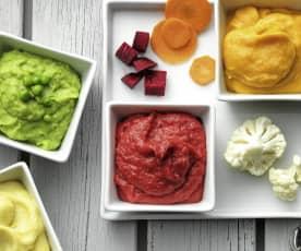 蔬菜马铃薯泥