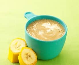 香蕉泥(6个月辅食)