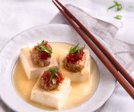剁椒肉末蒸豆腐
