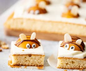 蜜蜂糖霜蛋糕
