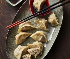 白菜猪肉蒸饺