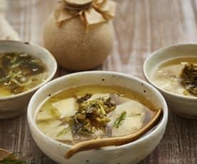 雪菜土豆汤