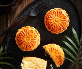 琼式椰蓉月饼