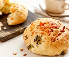 混合蔬菜面包