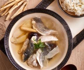 沙参玉竹黑鱼汤