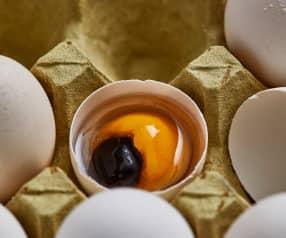 蛋黄红豆汤圆