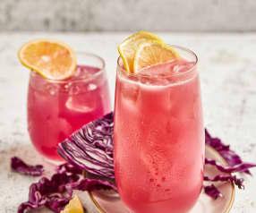 粉红柠檬汁
