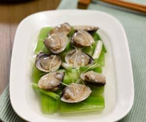 蛤蜊蒸丝瓜