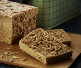 蒸全麦面包