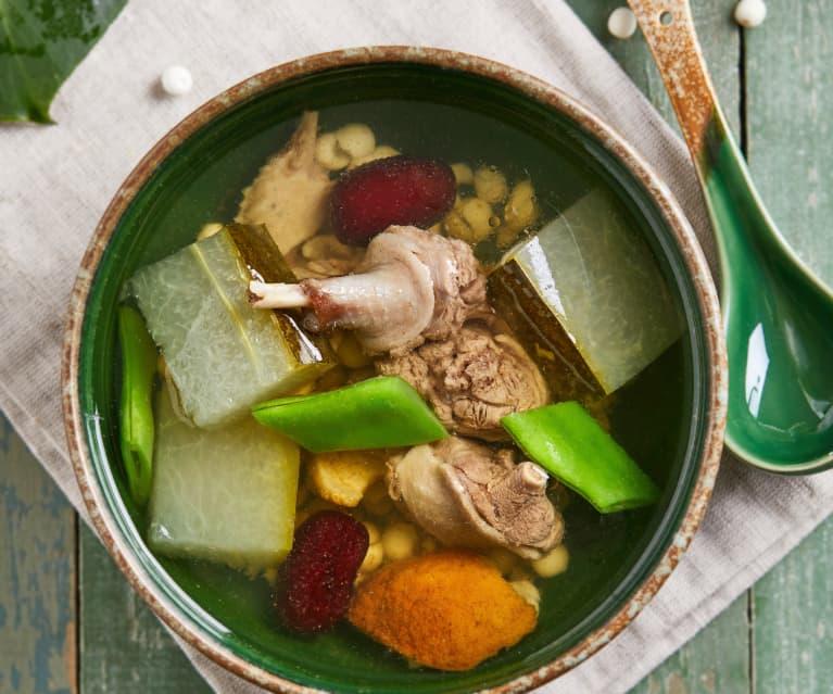 冬瓜扁豆鸭汤